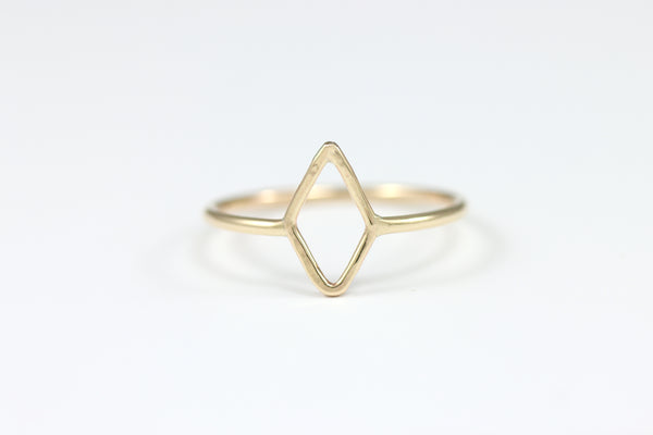 R019 Tiny Diamond Stacking Ring