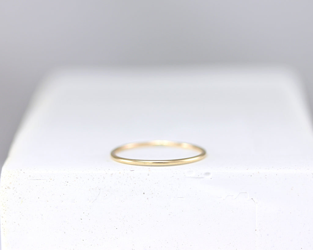 Super Thin Stacking Ring