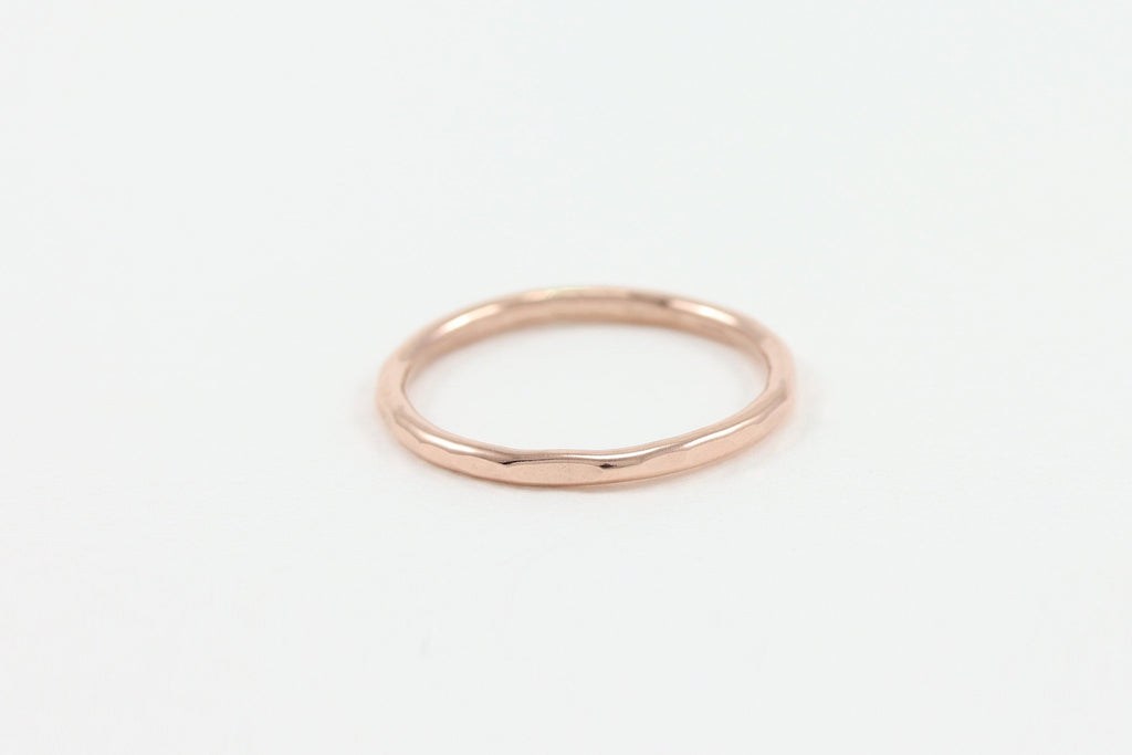 Hammered Ring Band