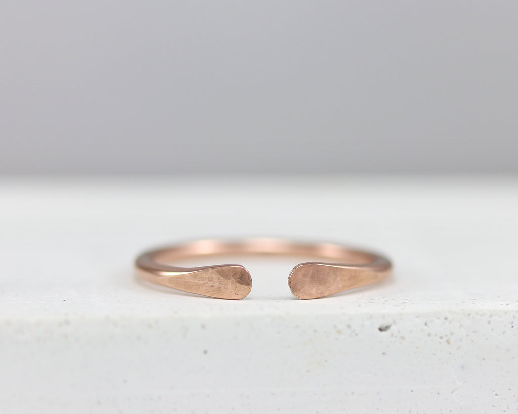 Adjustable Cuff Ring Band