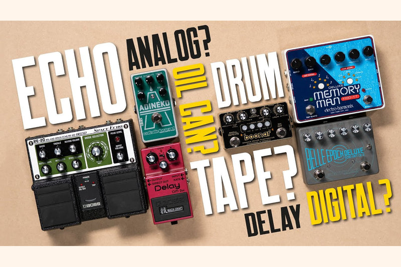 That Pedal Show: Best of Delay & Echo Sounds
