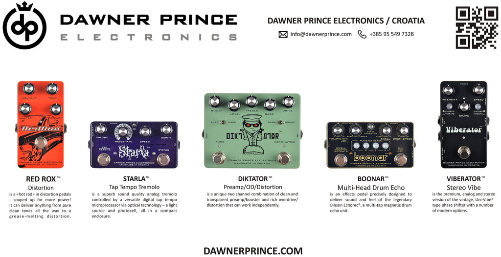 Dawner Prince L.A. Stompbox Exhibit