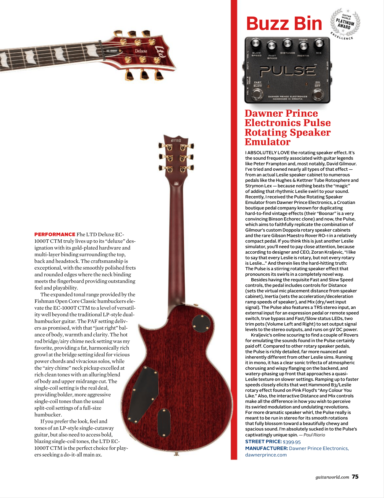 Guitar World Pulse review