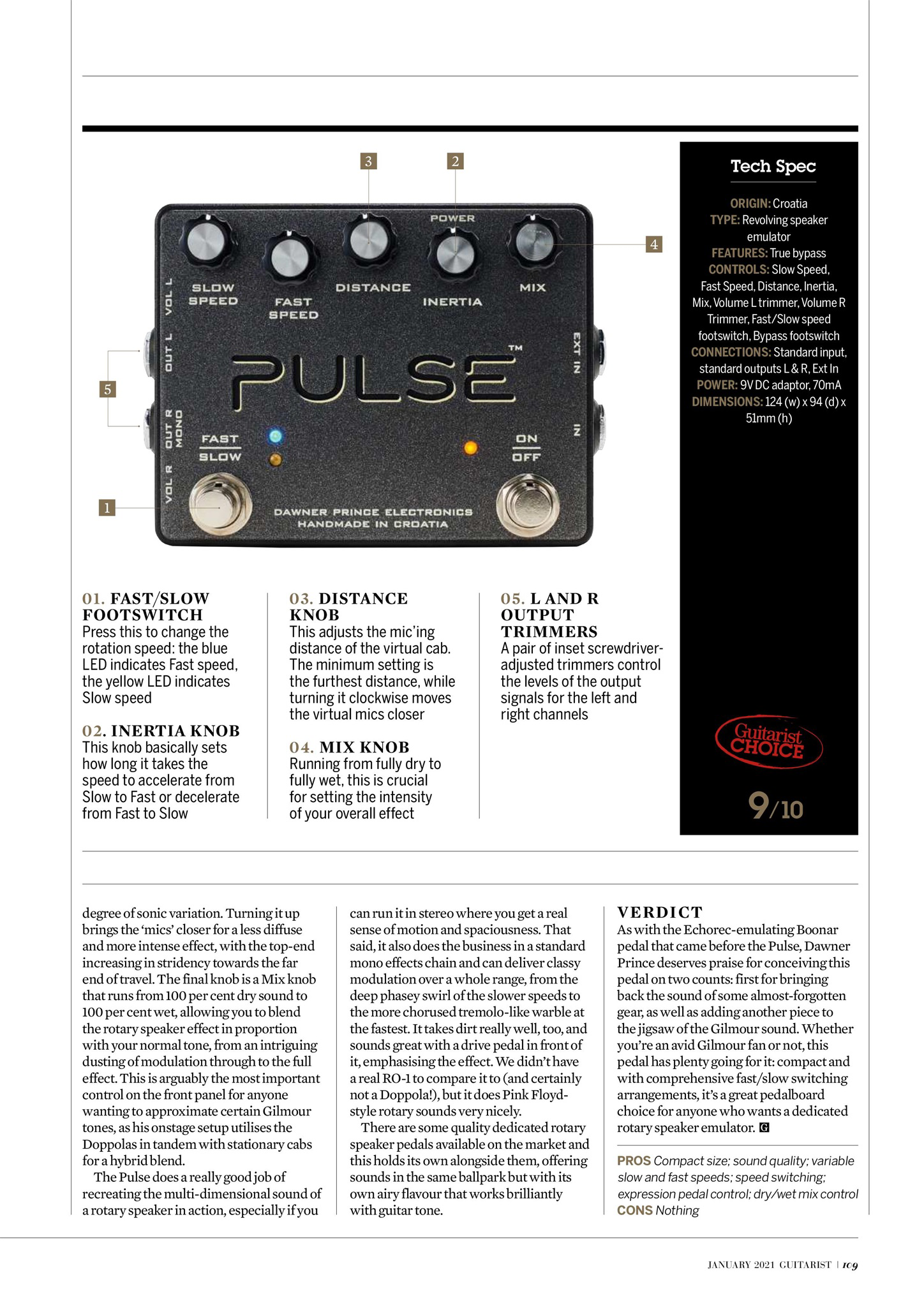 Guitar Magazine Pulse review 2
