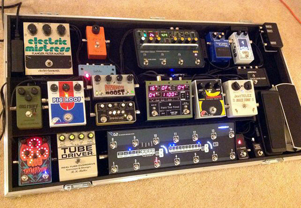 Lee Harris pedalboard