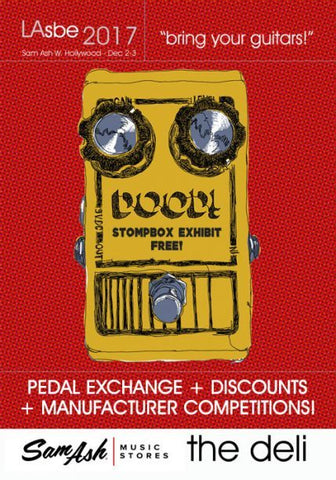 The LA StompBox Exhibit
