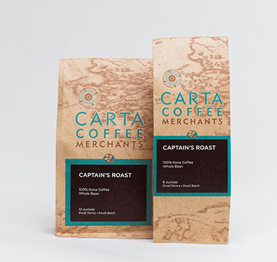 captains roast kona coffee