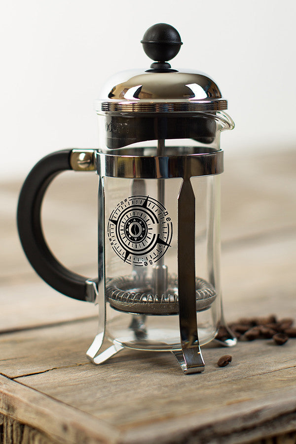Compass Rose 3-cup French Press