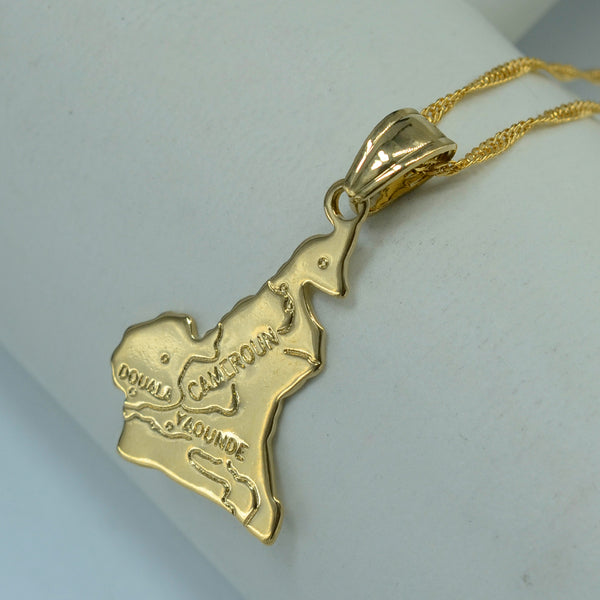 Golden Cameroon Necklace