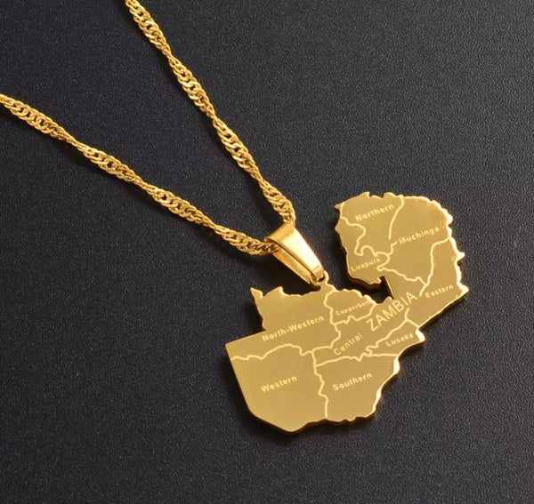 Golden Zambia Necklace