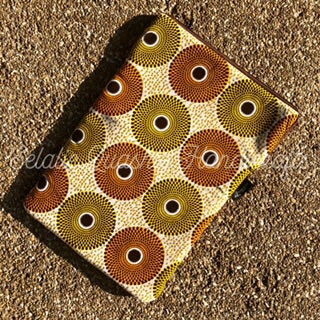 Gold Subra Print Laptop Sleeve
