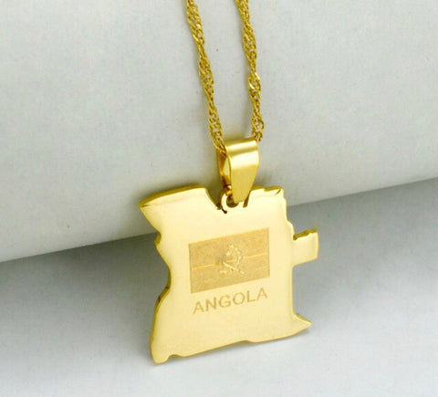 Golden Angola Necklace