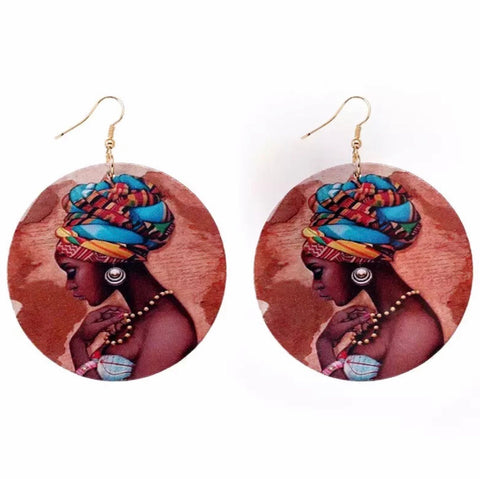 African Monarch Earrings