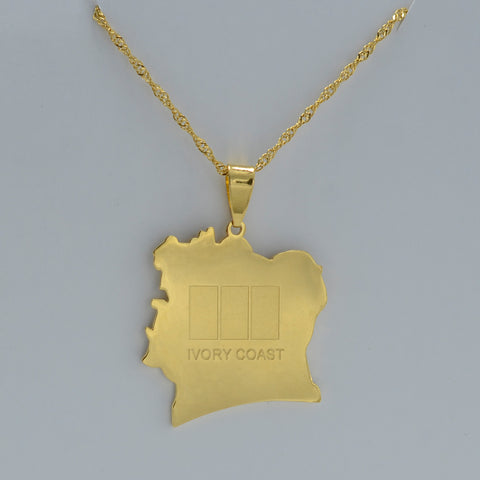 Golden Ivory Coast Necklace