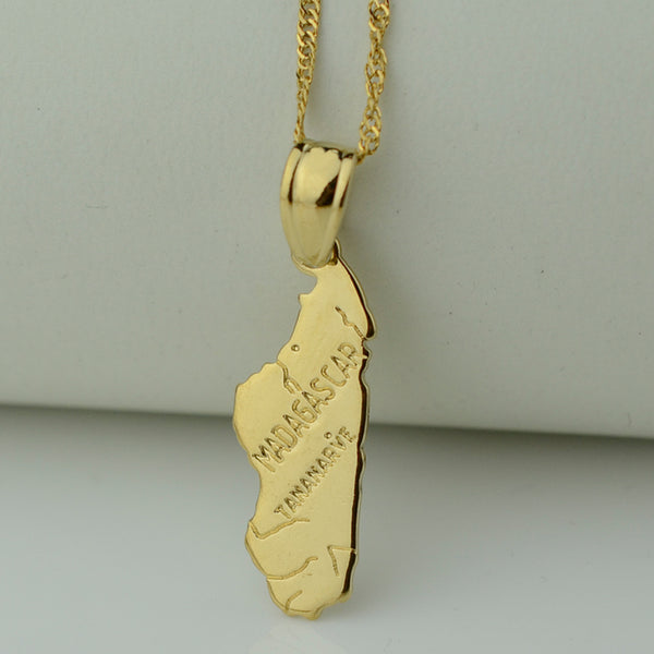 Golden Madagascar Necklace