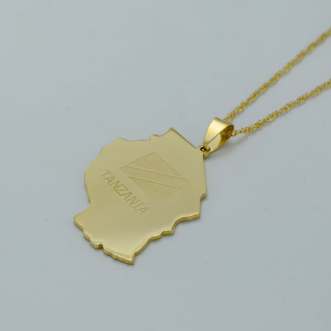 Golden Tanzania Necklace