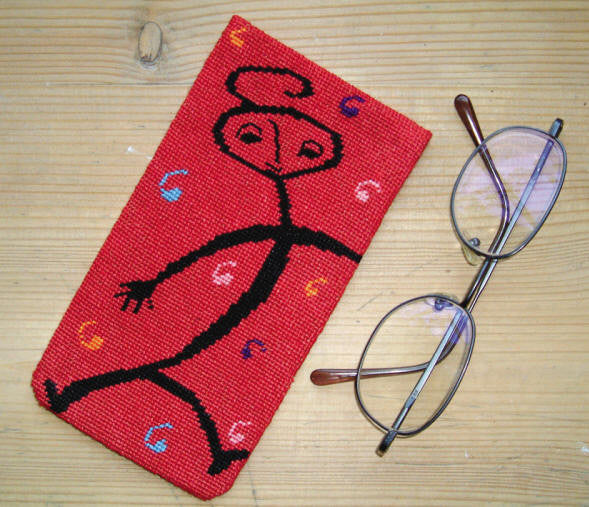 Man Eye Glass Case
