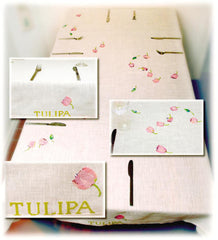 Tulip Tablecloth, linen included