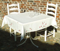 Strawberry Tablecloth, linen included