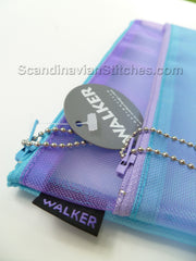 Walker Bag - 6 x 10 Double Zip Case