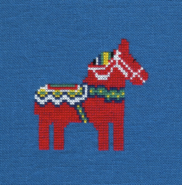 Dala Horse Kit, blue
