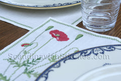 Poppy Placemats
