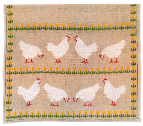 White Chickens Runner
