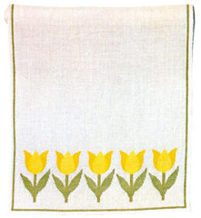Yellow Tulips Runner