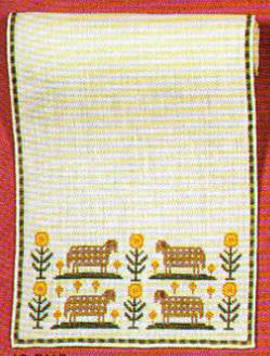 Sheep and Flowers Runner