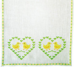 Chicks in Hearts Runner