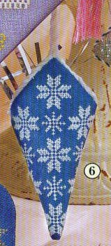 Snowflake Christmas Ornament Chart