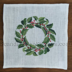 Holly Wreath, December