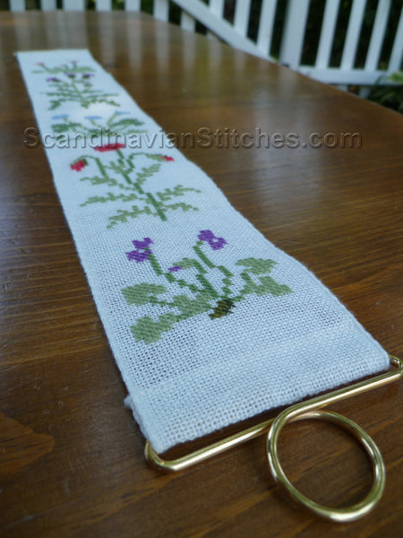 Wildflowers Mini Bell Pull