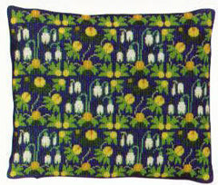 Winter Aconite Wool Pillow