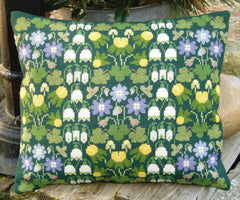 Spring Flowers Wool Pillow