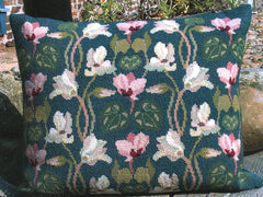 Cyclamen Pillow