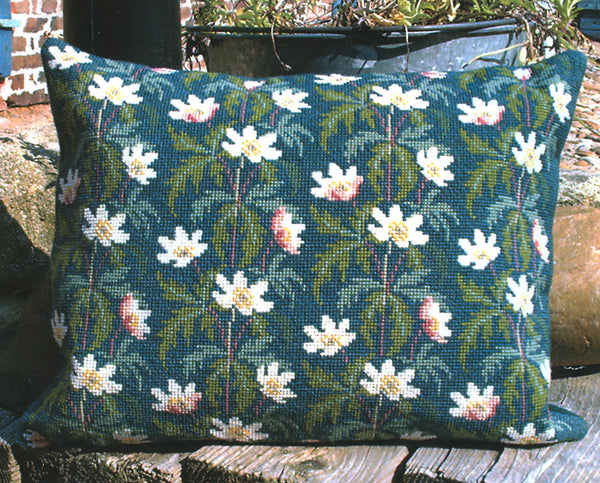 Wood Anemones Pillow