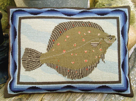 Plaice Wool Pillow