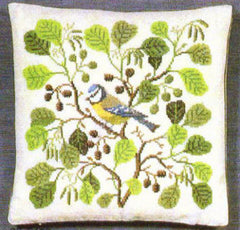 Blue Tit Pillow