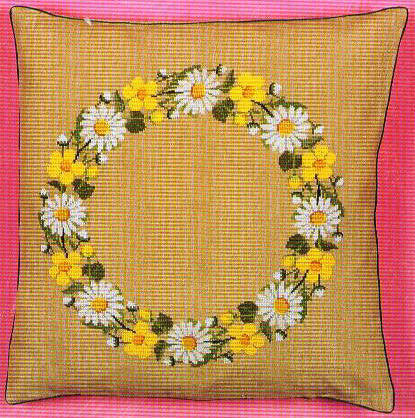 Spring Garland Pillow