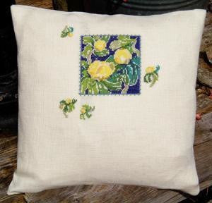 Winter Aconite Pillow