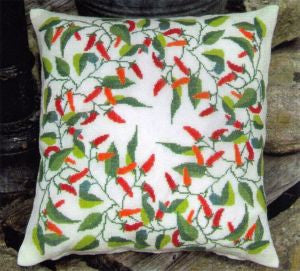 Chili Pepper Pillow
