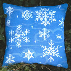 Ice Crystal Pillow