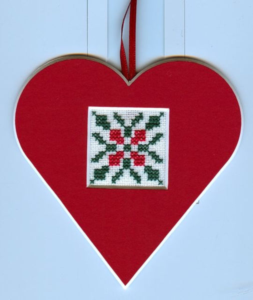 Poinsettia Quilt Stitch Pack