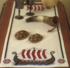 Viking Ship Table Runner
