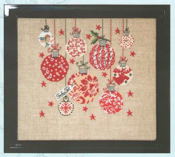 Christmas Decorations Cross Stitch Kit