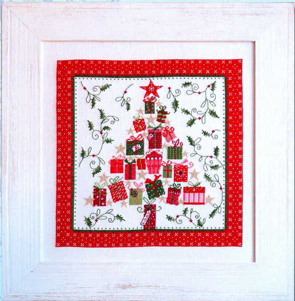 Christmas Present Tree Cross Stitch Kit