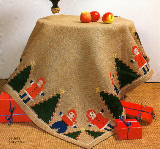 Christmas Party Tree Skirt