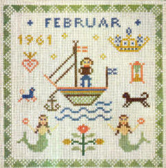 Birthday Sampler, February