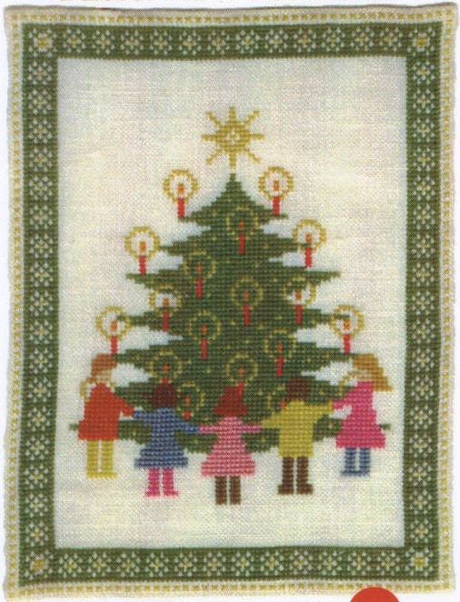 Christmas Tree with Children